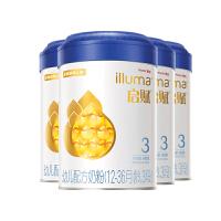 惠氏启赋(Wyeth illuma)3段奶粉 爱尔兰进口 12-36月幼儿配方 (900克*4罐)