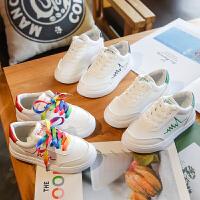 儿童小白鞋男童白色板鞋男鞋子休闲鞋男潮鞋