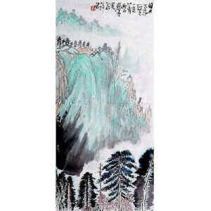 黄独峰  《幽山图》