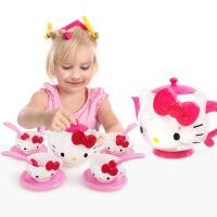 女孩儿童过家家公主玩具可爱茶壶茶具13件套装