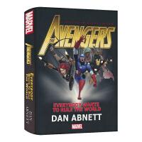 【首页抢券300-100】漫威英文原版长篇小说 新故事线 Marvel Avengers Everybody Wants