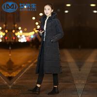 【拒绝套路,底价包邮】韩版修身加厚羽绒棉大衣长款过膝棉衣女大码棉服外套显瘦