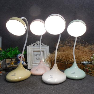 LED台灯护眼书桌现代简约大学生学习创意调光触摸宿舍办公USB台灯