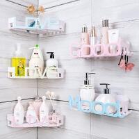 【支持礼品卡】卫生间置物架浴室洗漱台厕所洗手间吸盘收纳架子壁挂免打孔吸壁式 p1s