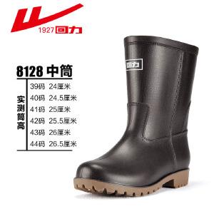 回力雨鞋男士水靴套鞋钓鱼鞋雨靴男短筒中筒高筒防水鞋雨鞋胶鞋水鞋男