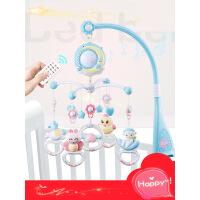 【支持礼品卡】婴儿玩具音乐0-3-6-12个月旋转宝宝玩具新生儿床铃摇铃0-1岁益智x4a