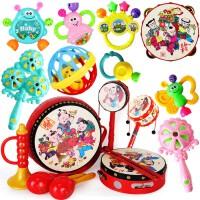 手摇铃新生儿0-1岁婴儿玩具3-6个月女宝宝益智小孩子2到4男孩5至8 七件套 六件套 叮当球三件套