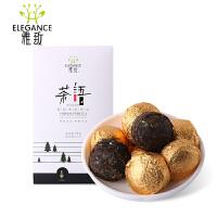菊花普洱熟茶小沱茶 15粒精致盒装 75克/盒