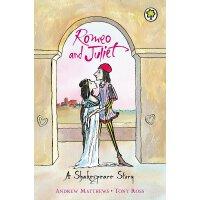 【现货】英文原版 莎士比亚儿童读本:罗密欧与朱丽叶 (64页)A Shakespeare Story: Romeo and Juliet 9781841213361