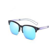 欧美时尚个性太阳眼镜圆框简约太阳镜开车驾驶太阳镜
