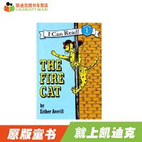 【99选5】#凯迪克 英文原版绘本 正版汪培�E书单AN I CAN READ第二阶:The Fire Cat 平装 经典儿童英语教育图书 小孩英语发声练习