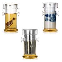 加厚红茶泡茶具耐热玻璃泡茶壶陶瓷不锈钢过滤冲茶器普洱绿茶茶杯