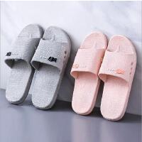 夏季新款男女拖鞋室内情侣软底拖鞋家居耐磨托鞋浴室按摩防滑凉拖