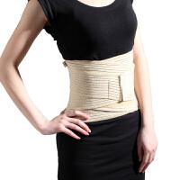 腰背透气护腰带腰间盘劳损护腰保暖男女腰疼护腰带腰托 浅黄色