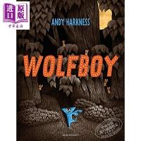 【中商原版】Andy Harkness:Wolfboy 狼孩 故事绘本 亲子英语 英文原版 进口图书 4-6岁