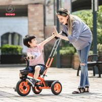 宝宝手推车免充气儿童三轮车脚踏车2--5岁小孩儿童车