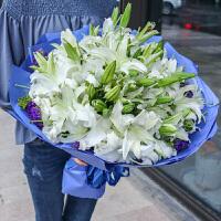 ????鲜花花束速递生日百合花同城北京上海深圳成都合肥长沙广州 喜迎国庆