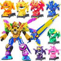 铠之魂国果宝特工特攻4变形 果宝战神儿童玩具