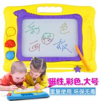 儿童画板玩具 磁性 大号 绘画板 宝宝彩色画板 写字板 涂鸦玩具 环保材料 卡通可爱造型 立体磨砂 大号彩色画板
