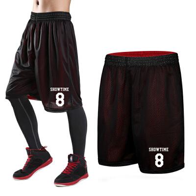 运动短裤男跑步健身运动休闲女大码过膝五分裤训练透气宽松篮球裤 -8号 发货周期:一般在付款后2-90天左右发货,具体发货时间请以与客服协商的时间为准