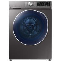 三星(SAMSUNG)智慕・多维双驱新款9公斤变频滚筒洗烘一体机双电机钛晶灰WD90N64FOAX