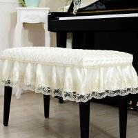钢琴凳罩琴凳子套双人凳罩田园布艺梳妆凳罩单人升降凳罩坐凳垫罩