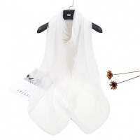 冰丝丝巾女春夏季韩版百搭简约女士披肩两用长款纱巾围巾防晒