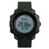 男士多功能电子手表防水户外运动指南针腕表男学生个性手表
