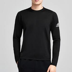 adidas阿迪达斯男服长袖T恤2019新款健身训练跑步休闲运动服DQ2846