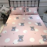 夏季天丝床笠单件 60支天丝床单席梦思床垫套裸睡床罩防滑1.51.8