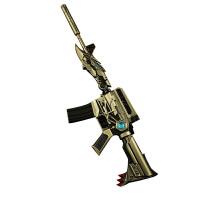 20180715084448005cf穿越火线英雄武器黑骑士AK M4暗杀神玩具枪模型合金武器小挂件 穿越cf武器