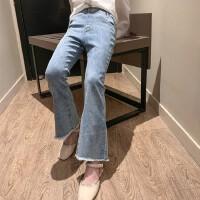 女童春装牛仔裤儿童春季新款长裤童装时髦裤子