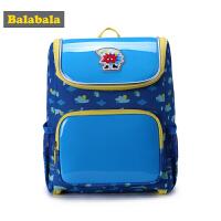 【2.26超品 3折价:50.7】巴拉巴拉儿童包包男童减负书包休闲包秋季新款学生时尚双肩包