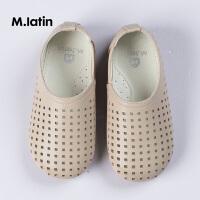 【秒杀价:89元】马拉丁童鞋小童男童女童鞋子2019年春夏新款镂空皮鞋238310611H