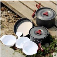 野餐用品户外套锅野营炊具锅具 便携套装露营装备2-3人