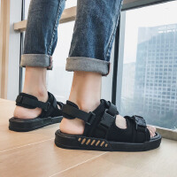 时尚新款夏季韩版潮流沙滩凉鞋男士室外百搭休闲凉拖青年外穿拖鞋