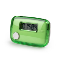 单功能电子计步器电子单键LCD屏手表跑步计步器