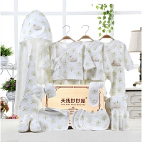 婴儿衣服春夏季套装0-3个月初生儿礼盒刚出生宝宝满月