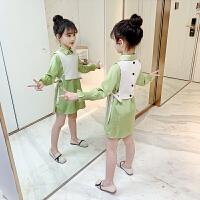 女童衬衫春装时髦春秋款长袖小女孩衬衣儿童上衣