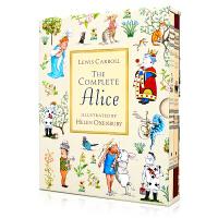 爱丽丝梦游仙境全集 The complete Alice Lewis Carroll 英文原版礼盒珍藏版 Alice