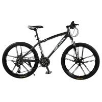 山地车自行车一体轮变速单车男女式学生款越野赛车青少年