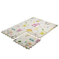 婴儿童宝宝爬行垫拼接加厚2CM客厅环保爬爬垫拼图泡沫地垫家用 1.8米*1.2米*2厘米(6片拼接装)