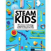 【现货】英文原版 STEAM教育 儿童动手项目:50多个科学/技术/工程/艺术/数学的动手项目 Steam Kids 4