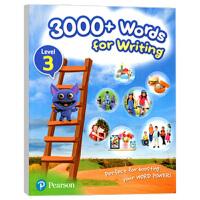 香港小学英语写作3000词3级别 朗文英语小学教材 英文原版 3000+ Words For Writing 培生PTE