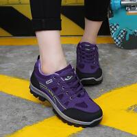 秋季登山鞋女防水徒步鞋防滑运动旅游鞋户外鞋透气女鞋越野跑鞋