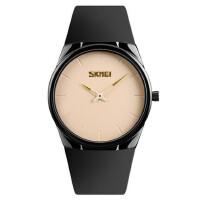 男士简约石英手表防水商务腕表时尚潮流两针时装男表薄壳款