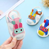 宝宝凉鞋女夏季1-3岁2男童软底婴儿公主鞋子幼儿学步鞋
