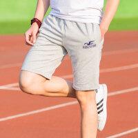 新悦都  运动裤男士短裤 五分针织棉休闲大码宽松跑步健身直筒夏季男卫裤  9001