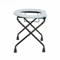 坐便椅凳ZC097坐便椅老年人孕妇加厚可折叠钢管折叠残疾人大便坐厕器洗澡厕椅可移动厕