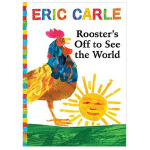 Rooster's Off to See the World(with CD)艾瑞・卡尔公鸡看世界 英文儿童绘本